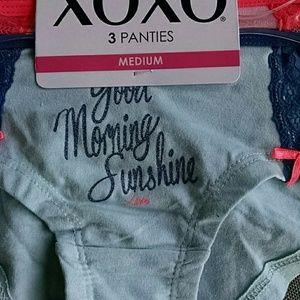 fdcb8295bd7d XOXO Intimates & Sleepwear - 3 Juniors Medium XOXO Cotton Spandex Boyshorts
